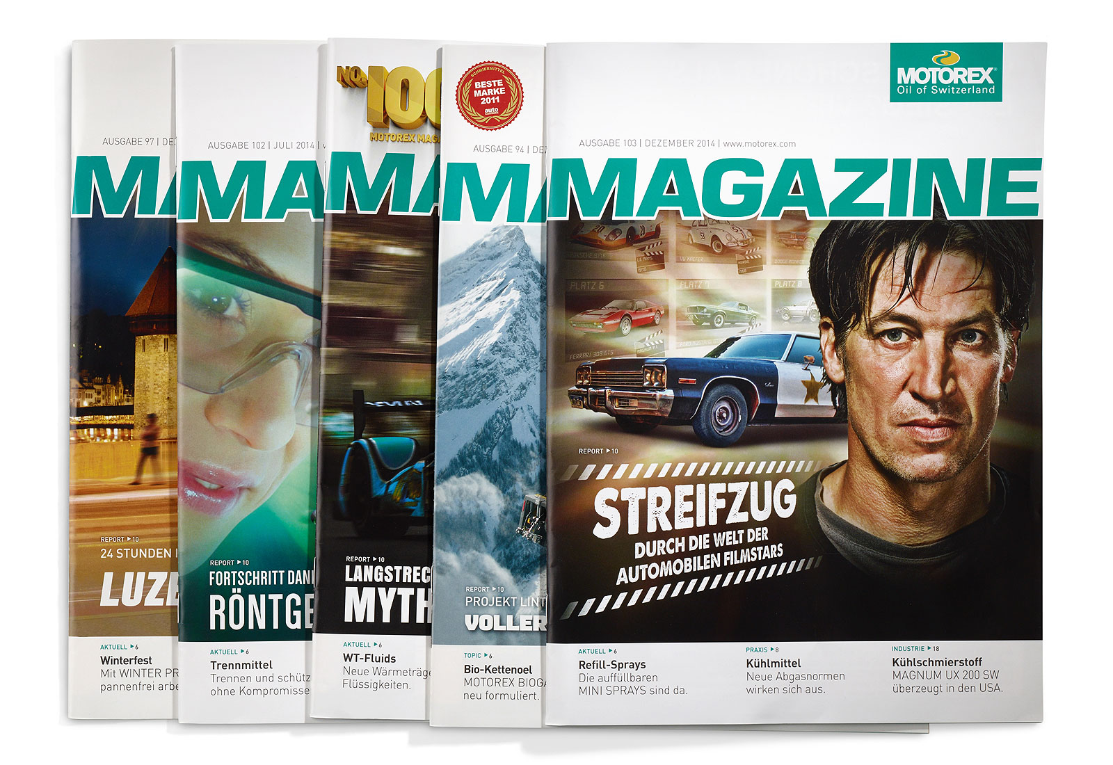 Referenzen Publishing, Motorex Magazine